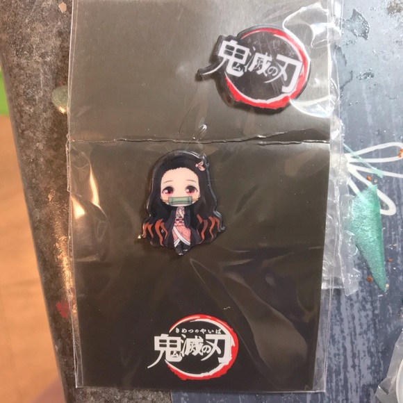 Ashley ~   Demon Slayer anime pins